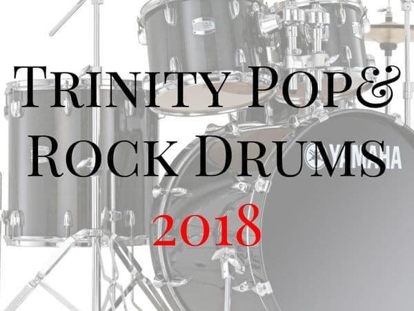 Trinity Rock & Pop Drums 2018